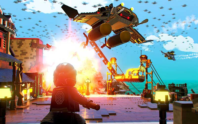 Buy The Lego Ninjago Movie Videogame Ps4 Game Code Compare Prices