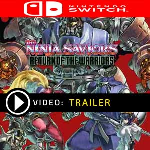 The Ninja Saviors Return of the Warriors Nintendo Switch Prices Digital or Box Edition