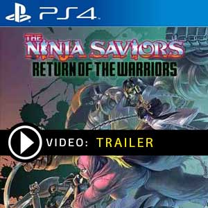 The Ninja Saviors Return of the Warriors PS4 Prices Digital or Box Edition