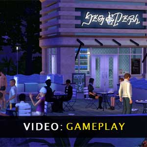 The Sims 3 Town Life Stuff Gameplay Video