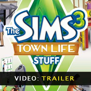 The Sims 3 Town Life Stuff Trailer Video