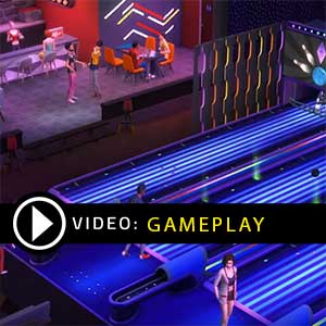 The Sims 4 Bowling Night Stuff Xbox One Gameplay Video