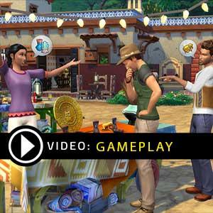 The Sims 4 Bundle Seasons, Jungle Adventure, Spooky Stuff Xbox One Gameplay Video