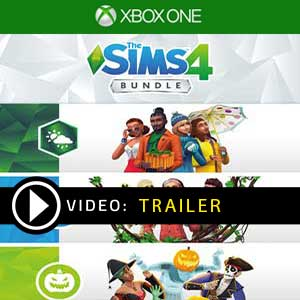 The Sims 4 Bundle Seasons, Jungle Adventure, Spooky Stuff Xbox One Prices Digital or Box Edition