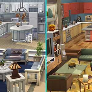 The Sims 4 Dream Home Decorator Before And After