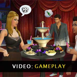 The Sims 4 Luxury Party Stuff Gameplay Video