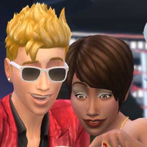 The Sims 4 Luxury Party Stuff Party