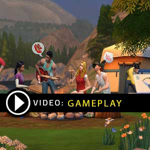 The Sims 4 Outdoor Retreat Gameplay Video