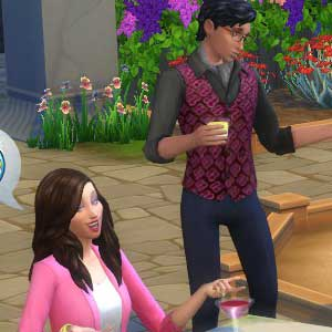 The Sims 4 Romantic Garden Stuff garden gathering