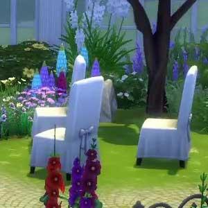 The Sims 4 Romantic Garden Stuff garden