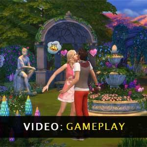 The Sims 4 Romantic Garden Stuff gameplay video