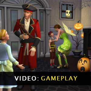 The Sims 4 Spooky Stuff Gameplay Video