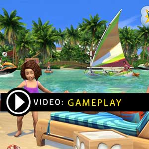 The Sims 4 Tropical Paradise Gameplay Video