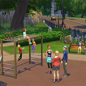 The Sims 4 Playground
