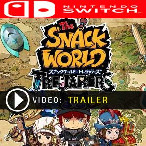 The Snack World Trejarers Gold Nintendo Switch Prices Digital or Box Edition