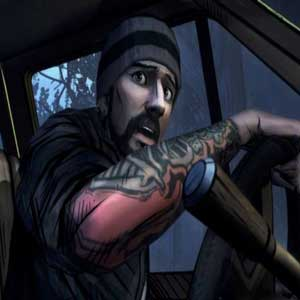 The Walking Dead 400 Days DLC Eddie in Georgia Highway