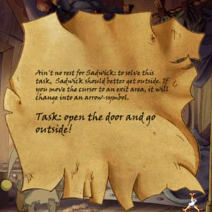 The Whispered World - Task