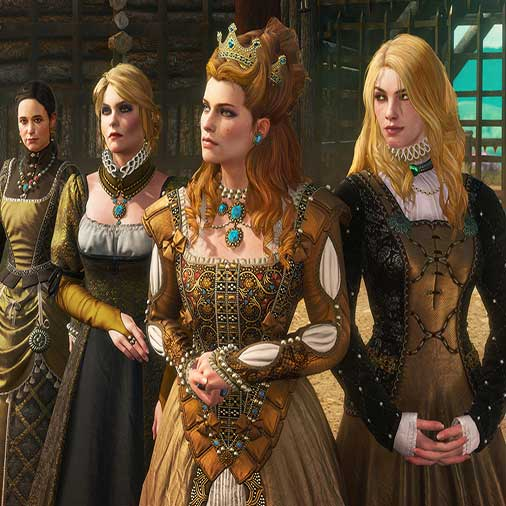The Witcher 3 Wild Hunt Blood and Wine Characters