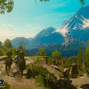 The Witcher 3 Wild Hunt Battle