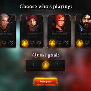 4 unique heroes