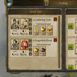 Manage village in The Awakening