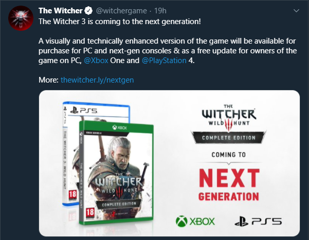 The Witcher 3 Next-Gen