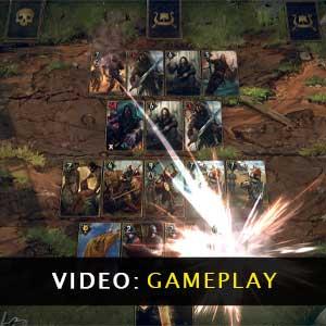 Thronebreaker The Witcher Tales gameplay video
