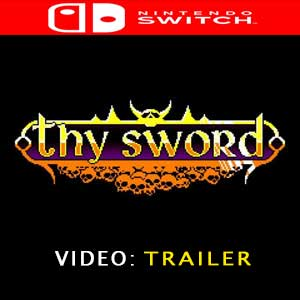 Thy Sword Nintendo Switch Prices Digital or Box Edition
