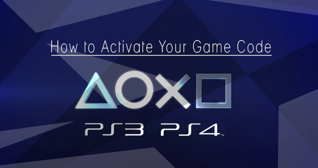 How To Activate Your Game Code On Your Ps3 Ps4
