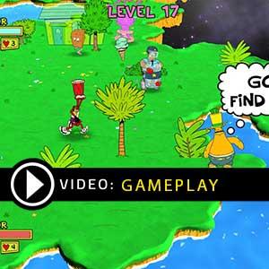 ToeJam & Earl Back in the Groove Gameplay Video