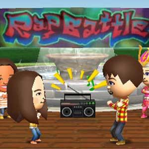 Tomodachi Life Nintendo 3DS Dancing