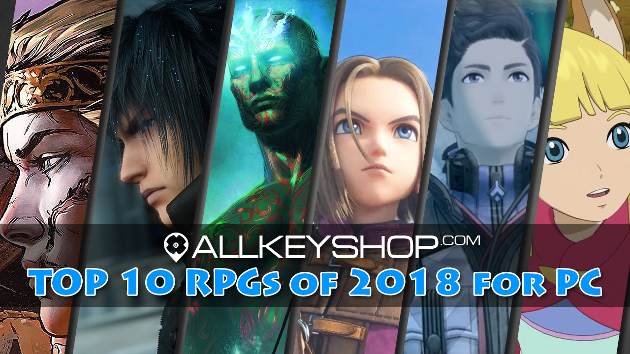 Top 10 RPGs of 2018 for PC
