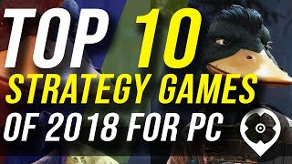 Top 10 Strategy Games of 2018 for PC