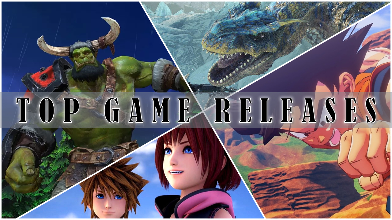 Top Game Releases for January 2020