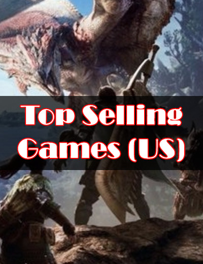 Here are the Top Selling Games of January 2018 in the US