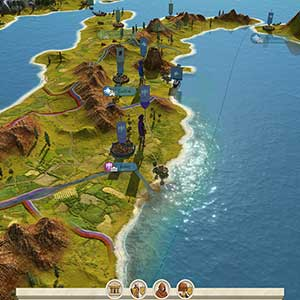 Total War ROME REMASTERED Map