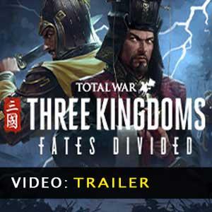 Total War THREE KINGDOMS Fates Divided Trailer Video