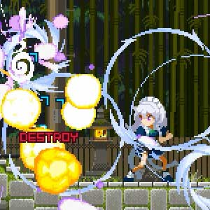 Touhou Luna Nights Auto Aim