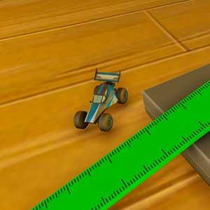 Create the ruler slide
