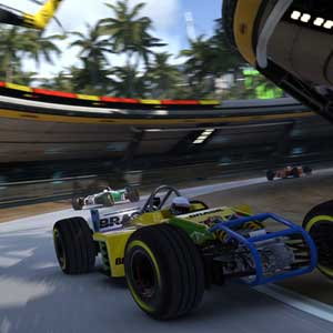 Trackmania Turbo PS4 Race