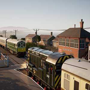diesel-electric locomotives