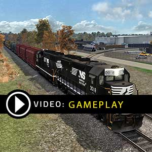 Train Simulator Norfolk Southern N-Line Route Add-On Gameplay Video