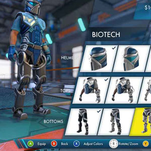 Trials Fusion PS4 Customize your rider