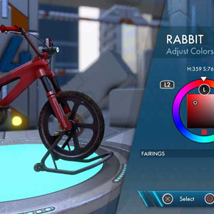 Trials Fusion Customize your ride
