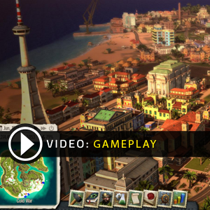 Tropico 5 Xbox One Online Multiplayer Gameplay Video