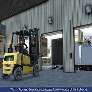 load your vehicle using a forklift