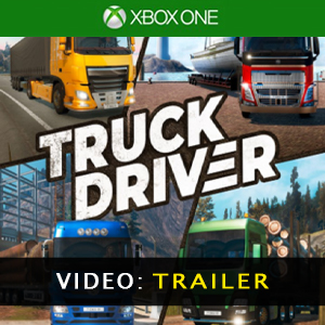 Truck Driver Xbox One Video Trailer