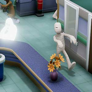 Two Point Hospital Ghosts and Mummies