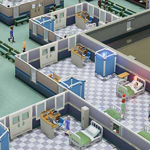 Two Point Hospital Layout