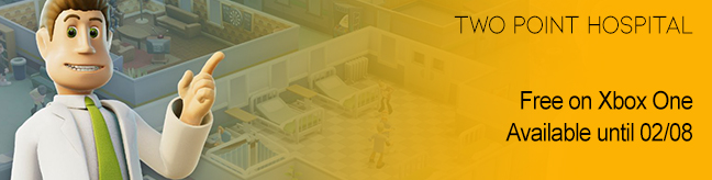Two Point Hospital free on Xbox One